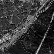 Überblick Katasterteilung 1:5.000, ehemaliges Lagergelände