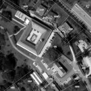 Katasterplan 1:1.000 Schloss Lannach sowie die umgebenden Grundstücke befinden sich im Privatbesitz (Familie Bartenstein)