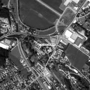 Überblick 1:5.000 mit GPS-Daten, 1=Schloss Lannach