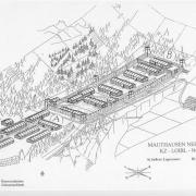 Schematische Zeichnung der gesamten Anlage (1995)
