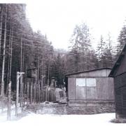 KZ Loibl Nord: Wachturm und Baracken