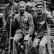 Lojze and Joze Homan, Jernej Mrak, Joze Revnikar (from left to right)