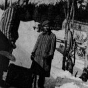 Félix Maurice und Henri Verhoeven im Winter 44-45
