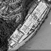 AL Passau II Waldwerke Detailansicht ehemaliges Lagergelände