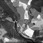 Overview with GPS data, AL Passau I - Oberilzmühle; former camp site probably southeast of it