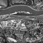 Overview with GPS data, AL Passau III - Danube port
