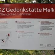 KZ-Gedenkstätte Melk - Eingang