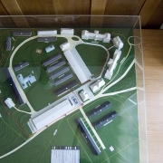 Model of the KZ subcamp in the memorial