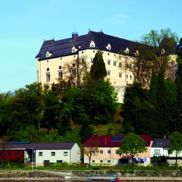 Castle Greinburg/ Grein on the Danube